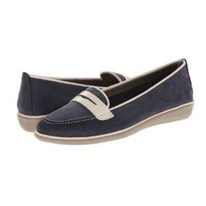 The Flexx Navy Women's Loafers